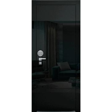 Взломостойкая межкомнатная дверь Blanco Magic Black Secure.