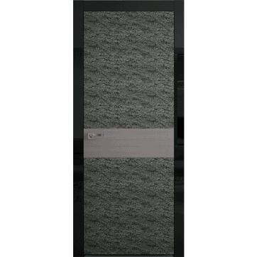 Межкомнатная дверь Colorize Rock Wood. Каменный шпон, натуральный древесный шпон.