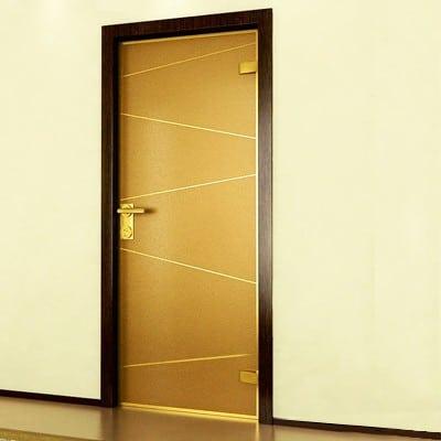 Межкомнатная стеклянная дверь G029