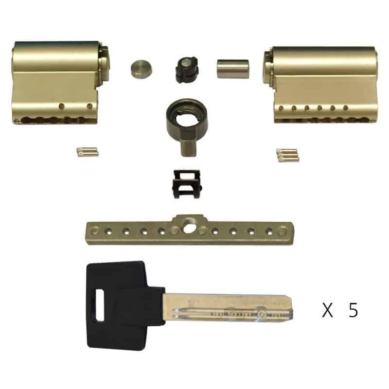 Цилиндровый механизм (личина) MODULAR BASE-M